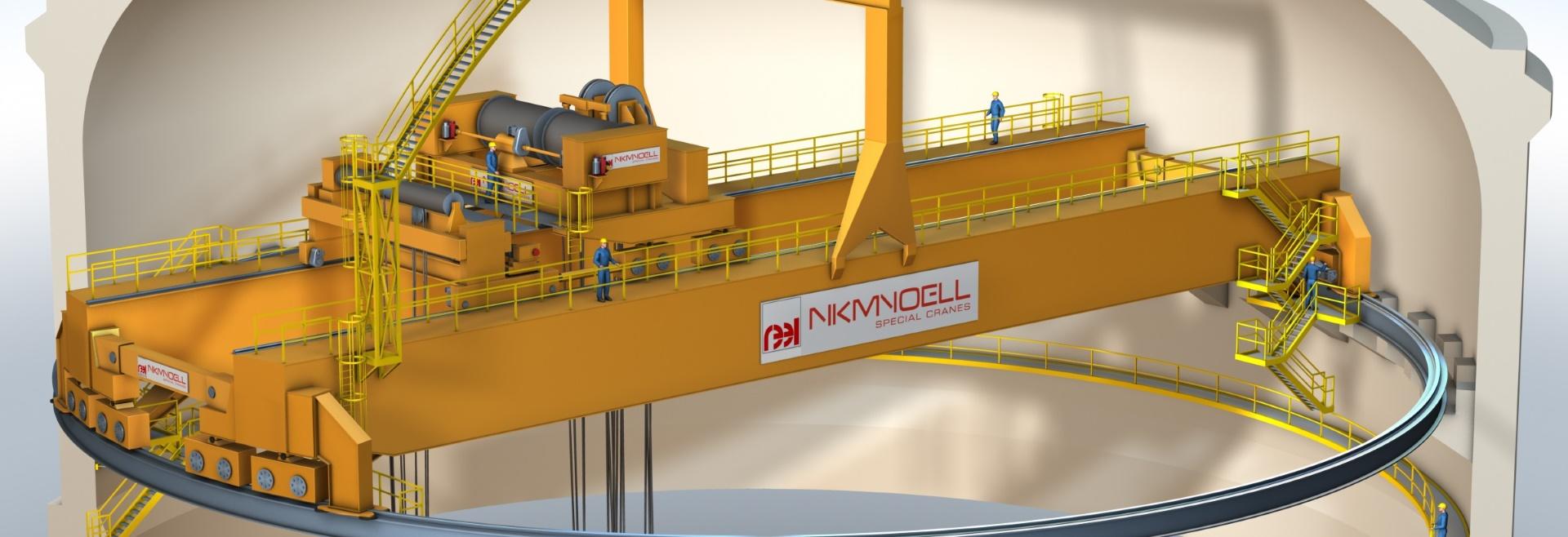 Reactor Building Cranes Nkm Noell
